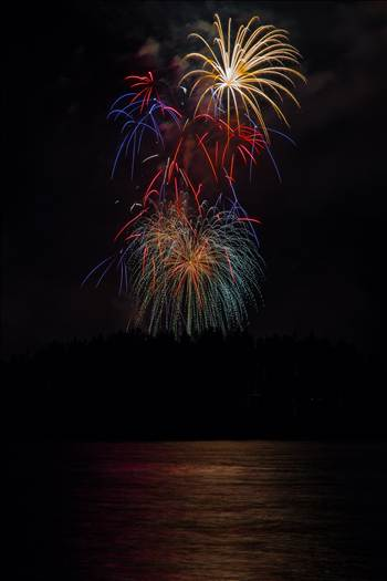 Dillon Reservoir Fireworks 2015 55 by D Scott Smith