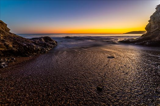 Sunset at Shell Beach 5 by D Scott Smith
