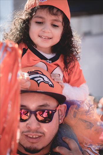 Father Daughter Broncos Fans - If you know who these two are... please contact me! I'd love to pass their photo long to them.