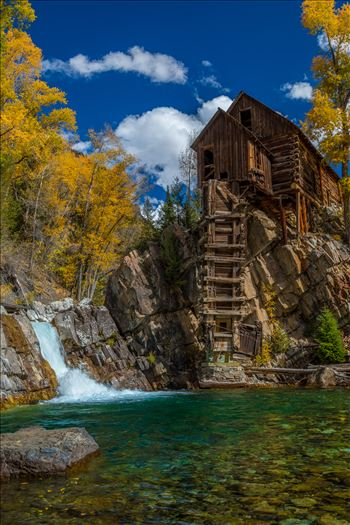Crystal MIll No 3 - The Crystal Mill, or the Old Mill is an 1892 wooden powerhouse located on an outcrop above the Crystal River in Crystal, Colorado