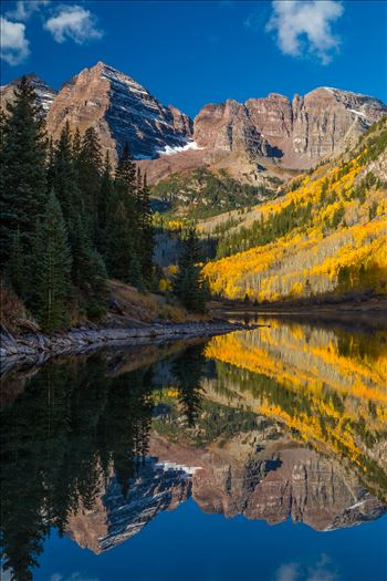 Maroon Bells No 2 by D Scott Smith