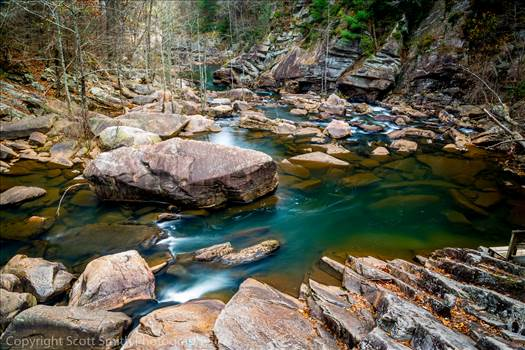 Tallulah Gorge by D Scott Smith