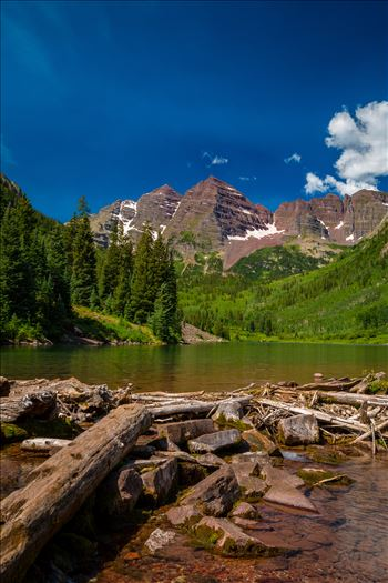Maroon Bells in Summer No 02 -