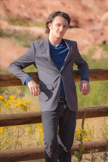 Ryan Fredericks - Senior Session 41 by D Scott Smith