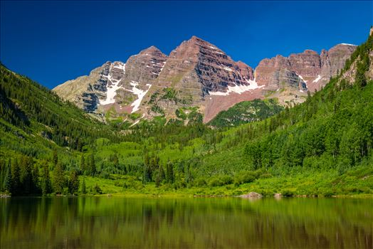 Maroon Bells in Summer No 08 by D Scott Smith