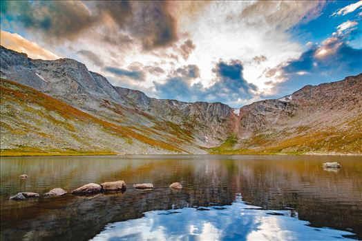 Summit Lake, Mt Evans III by D Scott Smith
