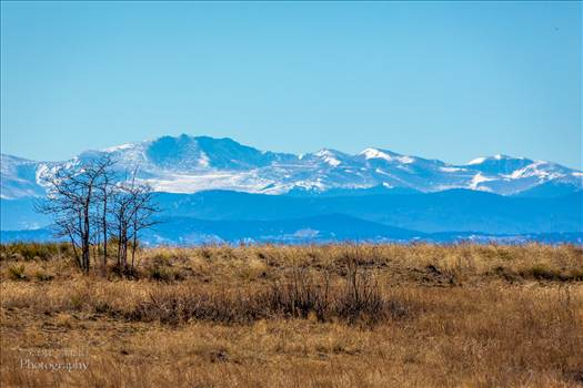 Front Range - The front range from the Rocky Mountain Arsenal Wildlife Refuge.