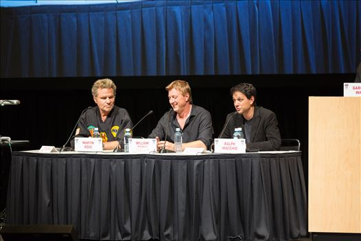 Denver Comic Con 2016 41 - Denver Comic Con 2016 at the Colorado Convention Center. Garrett Wang, Ralph Macchio, Martin Kove and William Zabka.