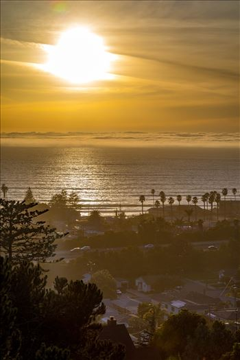 Pismo Beach Sunset 2 by D Scott Smith