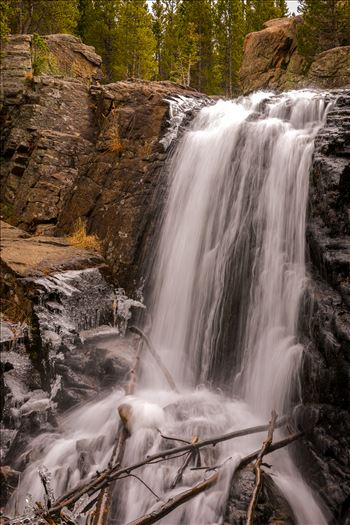 Alberta Falls, Rocky Mountain National Park No 3 by D Scott Smith