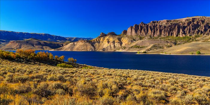 Dillon Pinnacles and Gunnison River Wide by D Scott Smith