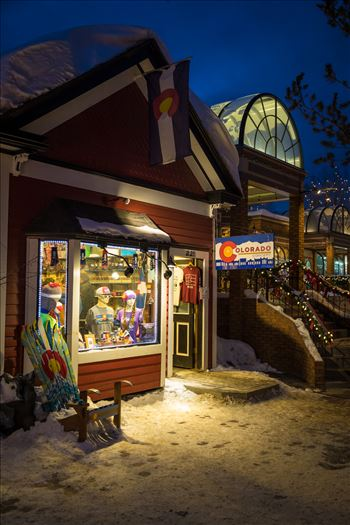 Breckenridge in Wintertime 07 by D Scott Smith