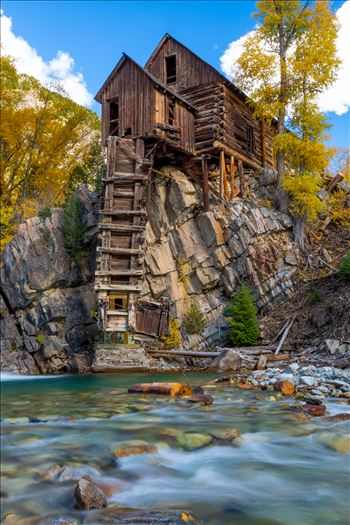 Crystal Mill, Colorado 09 by D Scott Smith