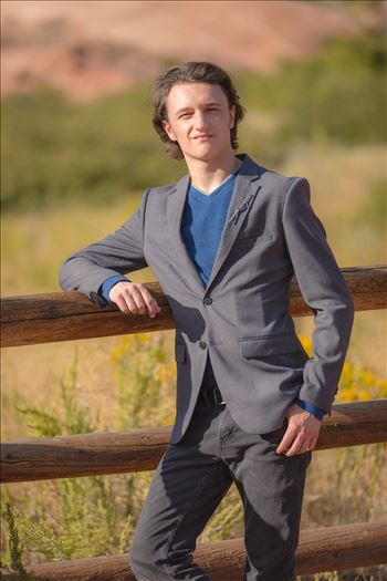 Ryan Fredericks - Senior Session 45 by D Scott Smith