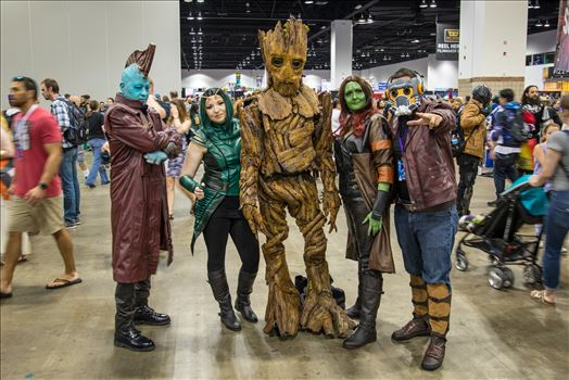 Guadians of the Galaxy at Denver Comic Con 2018 by D Scott Smith