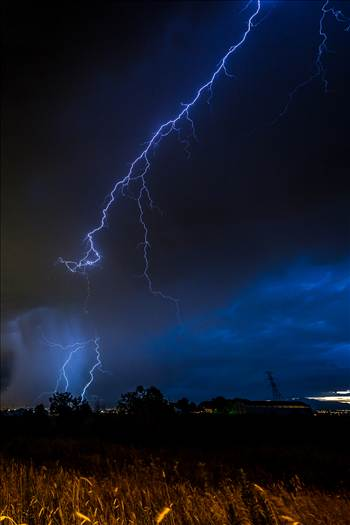 Lightning Flashes 4 by D Scott Smith
