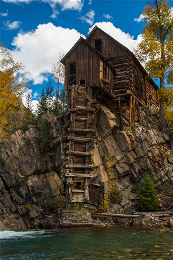Crystal Mill, Colorado 13 by D Scott Smith