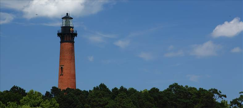 Currituck Lighthouse From Afar - Currituck, North Carolina Lighthouse