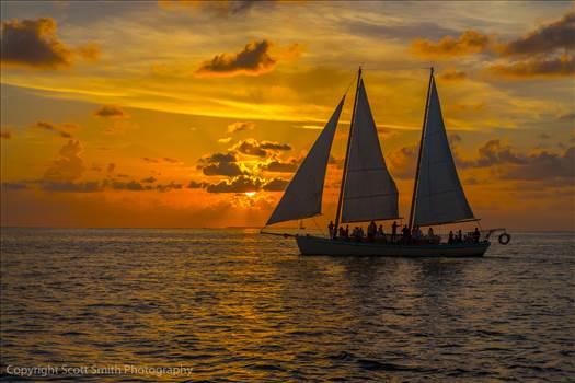 Key West Sunset 2 by D Scott Smith