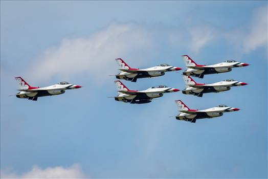 USAF Thunderbirds 24 by D Scott Smith