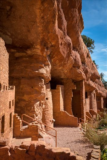 Manitou cliff dwellings, a few miles from Manitou, Colorado.