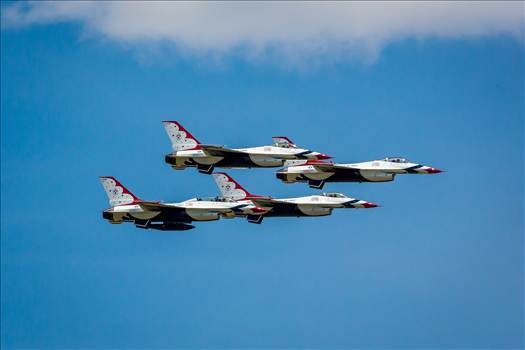 USAF Thunderbirds 28 by D Scott Smith