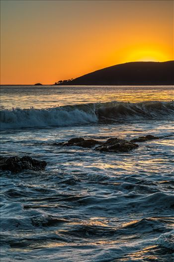 Sunset at Shell Beach 6 by D Scott Smith