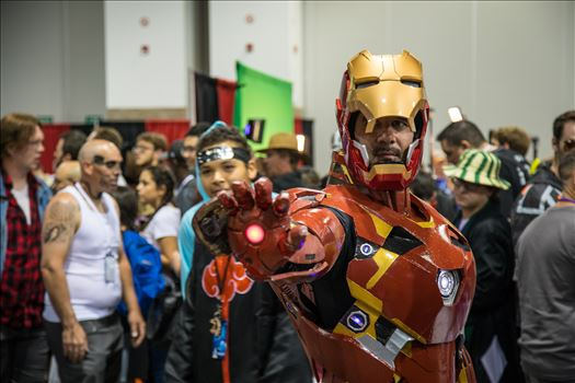 Iron Man  at Denver Comic Con 2018 by D Scott Smith