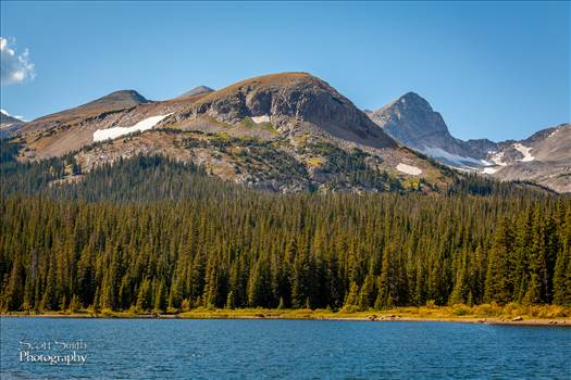 Brainard Lake - Heading to the hike to Long Lake, fall 2011. Beautiful scenery.