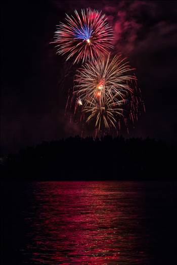 Dillon Reservoir Fireworks 2015 52 by D Scott Smith