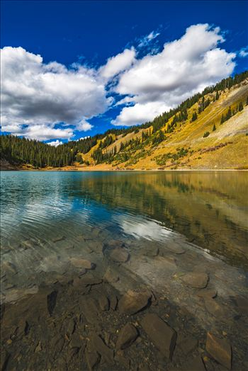 A tiny, protected lake near the end of Gothic Road, north of Crested Butte, Colorado.