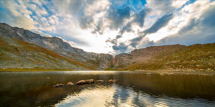 Summit Lake, Mt Evans - Summit Lake, near the summit of Mt Evans, Colorado. Available in wide (2:1) or typical (2:3) prints.
