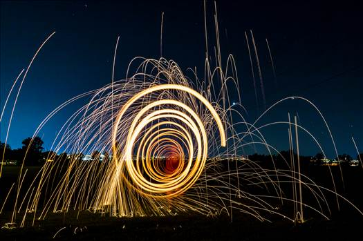 Steel Wool Tunnel II by D Scott Smith