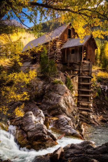 Crystal Mill, Colorado 12 by D Scott Smith