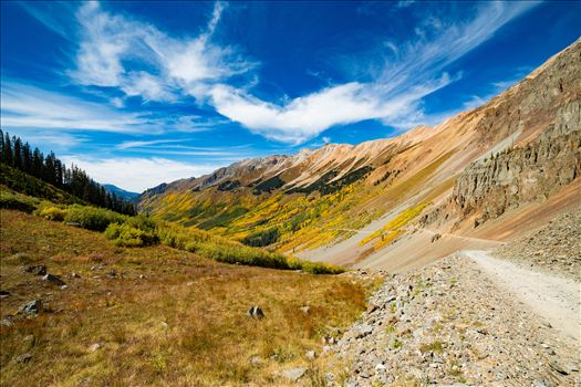 Ophir Pass 2 - Ophir Pass, between Ouray and Silverton Colorado in the fall.