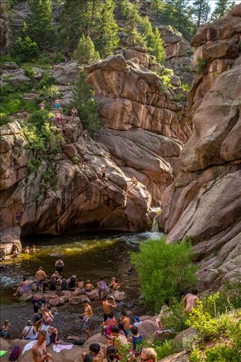 Guffy Cove (Paradise Cove) Colorado 32 by D Scott Smith