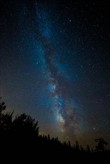 On my way to shoot the Perseid meteor shower I stopped and snapped this great view of the milky way.