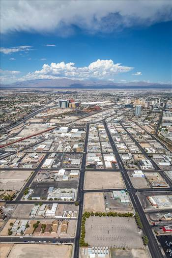 Vegas from the Stratosphere II by D Scott Smith