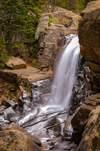 Alberta Falls, Rocky Mountain National Park No 4 by D Scott Smith