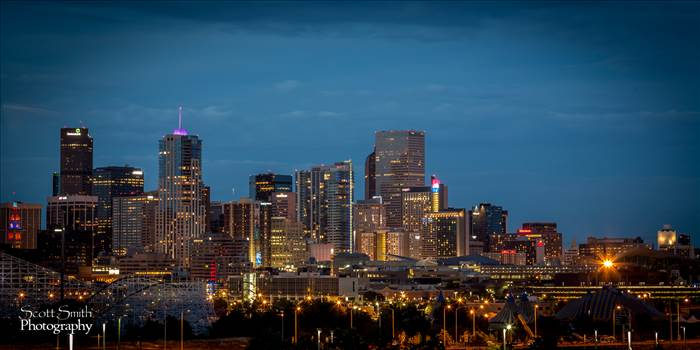 Denver at Night -