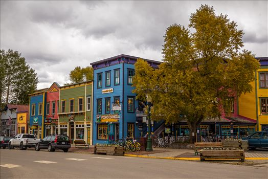 Crested Butte Main Street by D Scott Smith