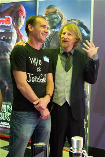 Lew Temple and Yours Truly by D Scott Smith