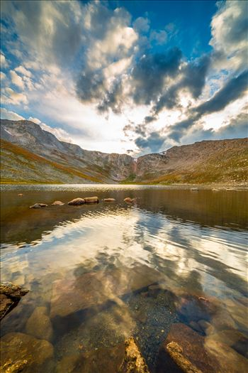 Summit Lake, Mt Evans II by D Scott Smith