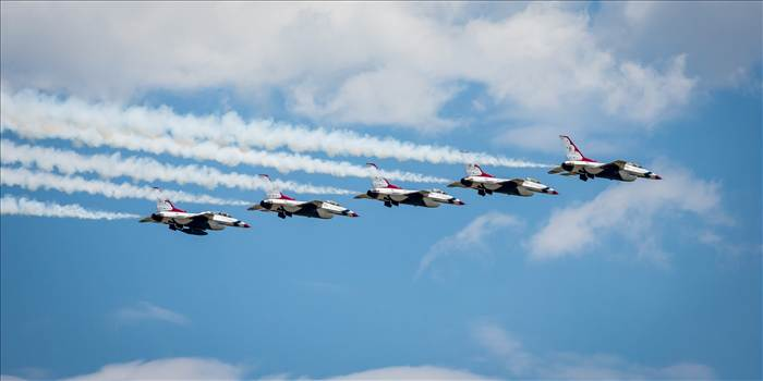 USAF Thunderbirds 5 by D Scott Smith