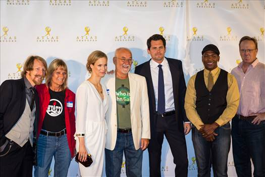 Cast of Atlas Shrugged: Who is John Galt at the Vegas Premiere No 5 by D Scott Smith
