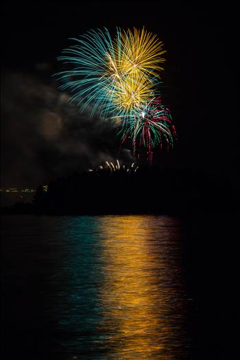 Dillon Reservoir Fireworks 2015 29 by D Scott Smith