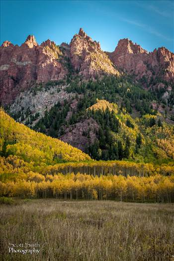 Maroon Bells - To the Right by D Scott Smith
