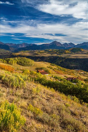 Last Dollar Road Ranch - A ranch on Last Dollar Road, outside of Telluride, Colorado in the fall.