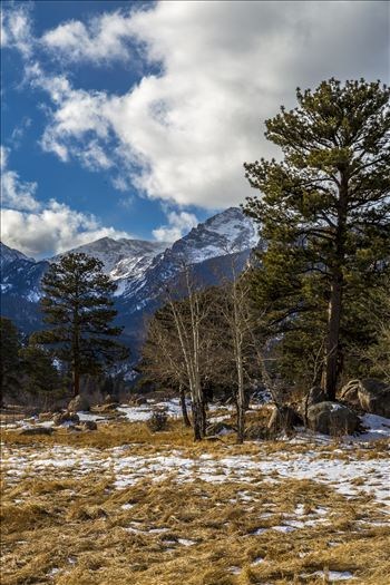 Winter at Bear Lake Road - Winter's begun, taken just off Bear Lake Road in the Rocky Mountain National Park.