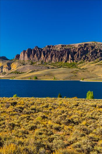 The Dillon Pinnacles tower over the beautiful Gunnison River, near Gunnison Colorado.